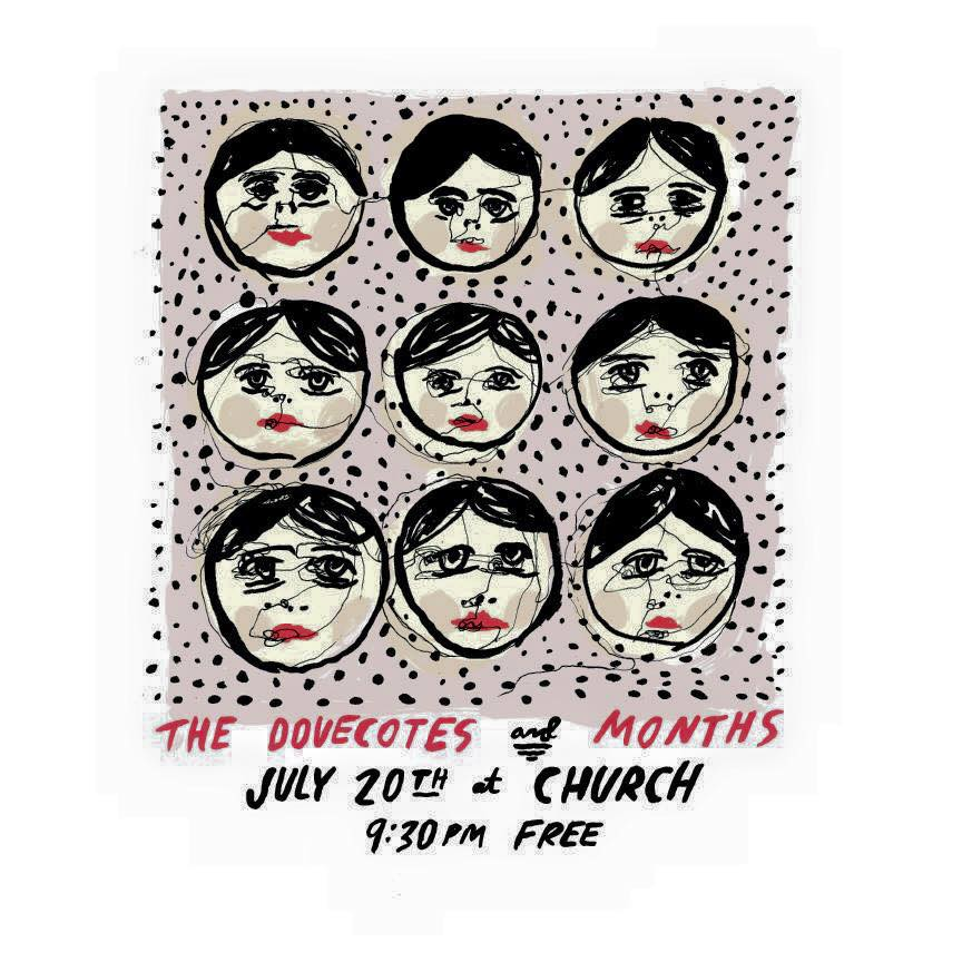 The Dovecotes and Months July 20th 2015 at Church