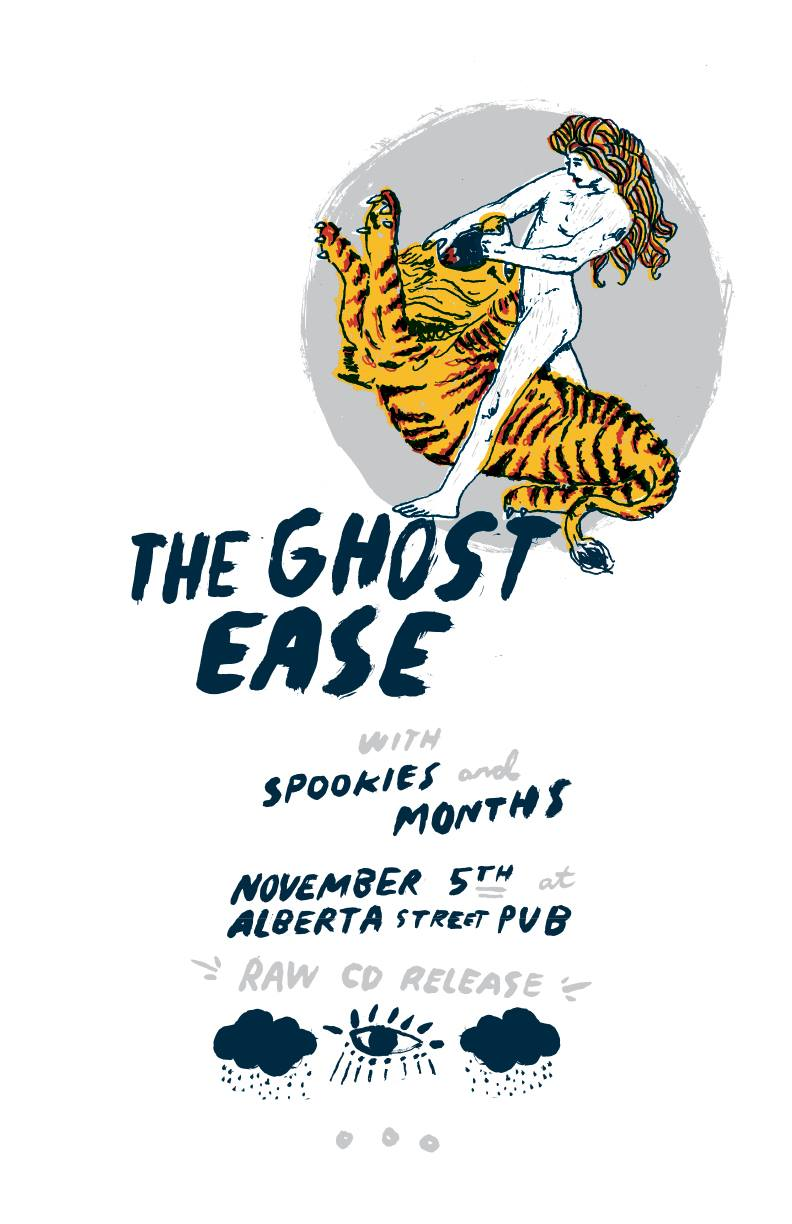The Ghost East with Spookies and Months