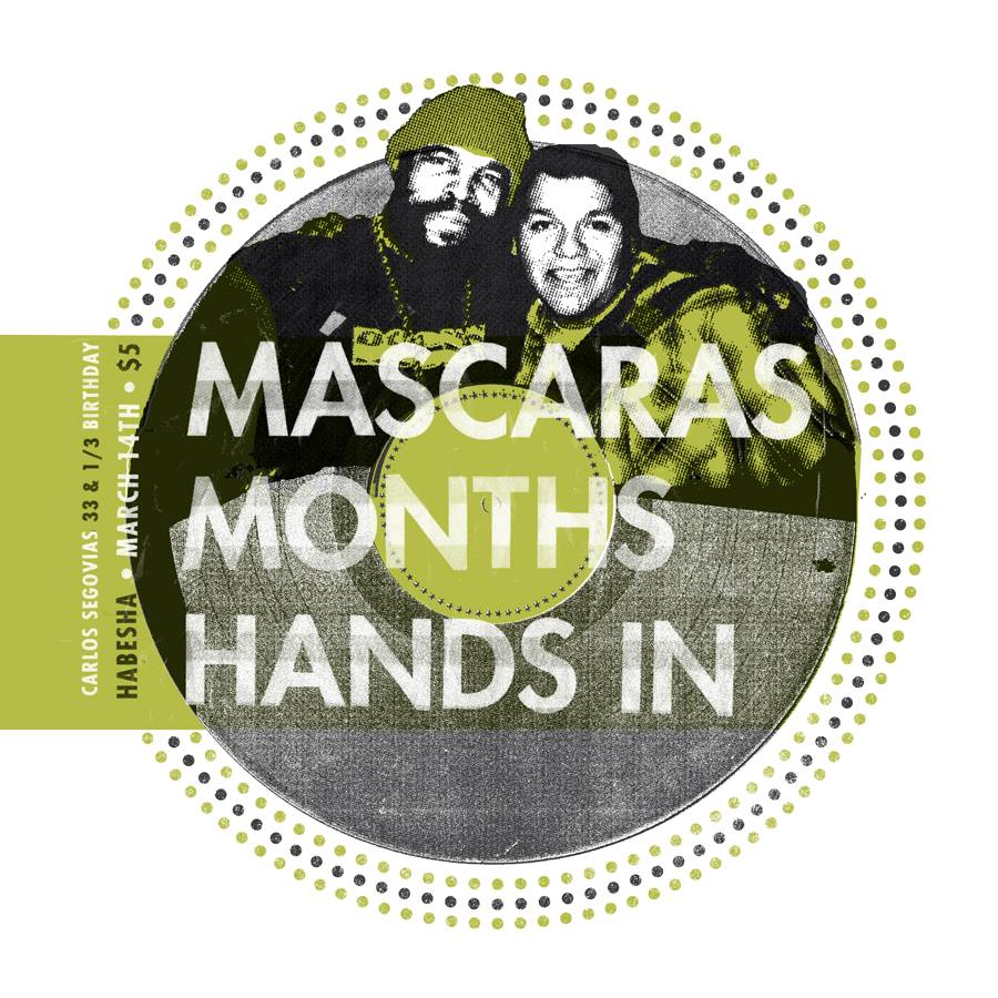 months with máscaras and hands in at habesha march 14 2015