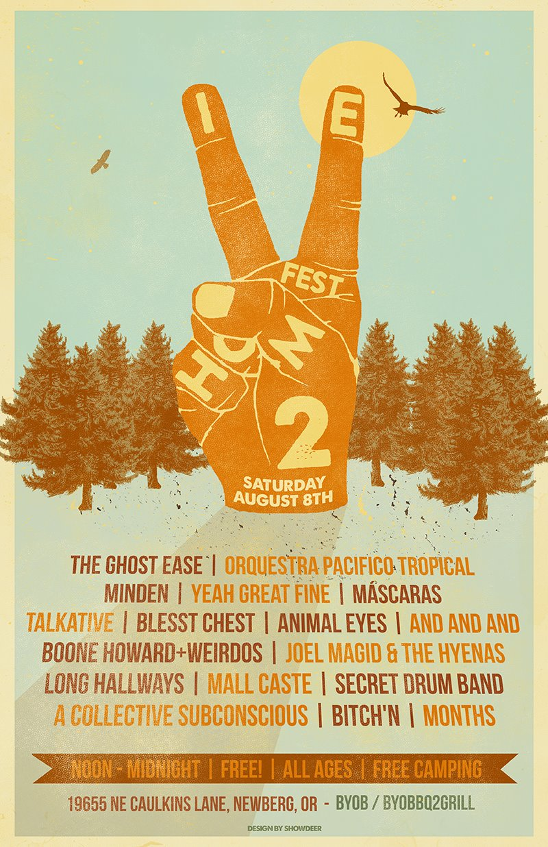 homiefest 2 featuring a whole bunch of bands