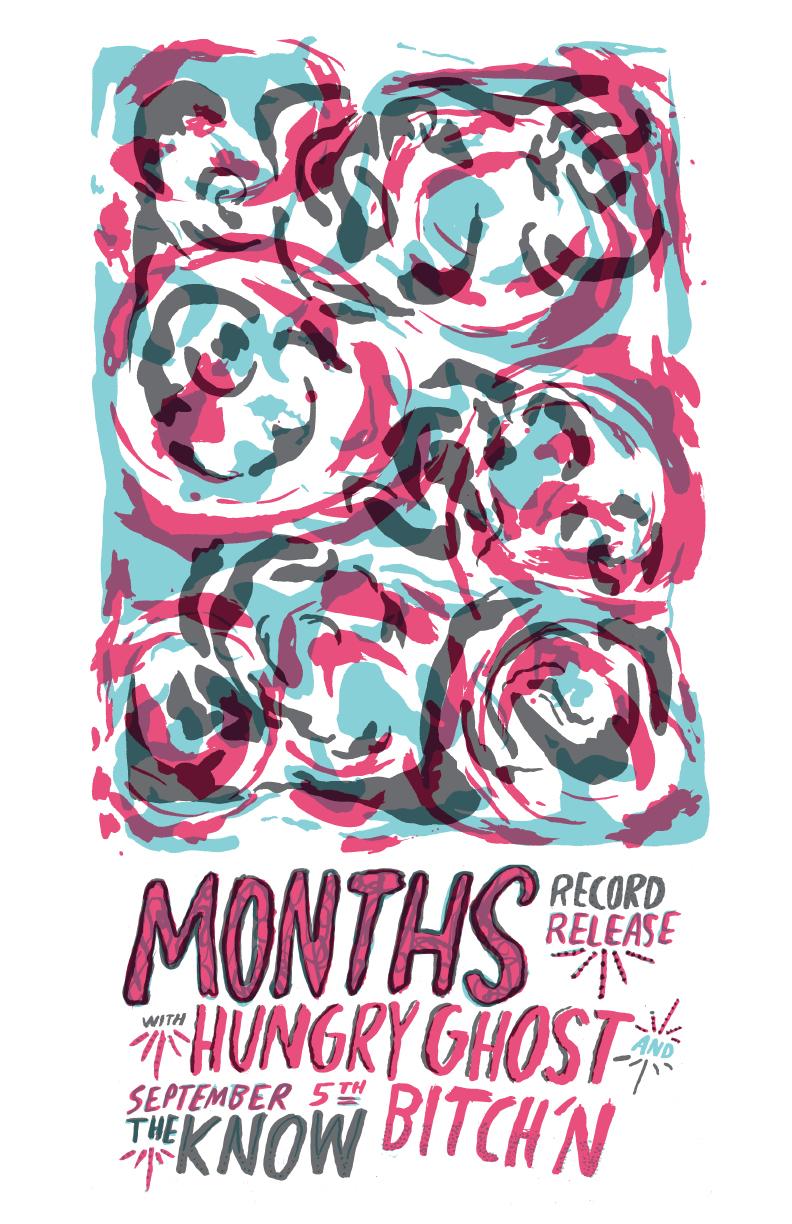 months record release with hungry ghost and bitch'n