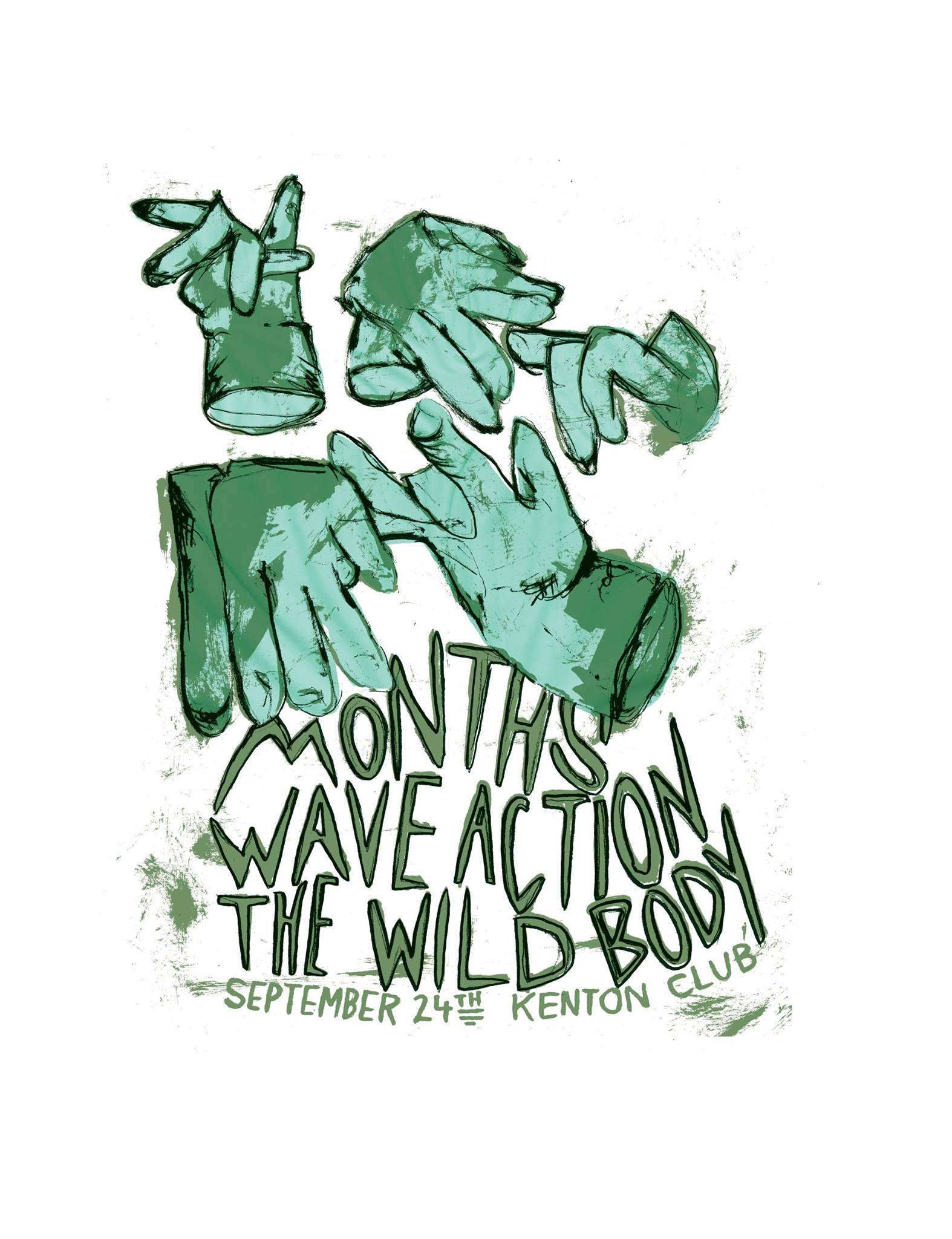 months play kenton club with wave action and the wild body on saturday september 24 2016