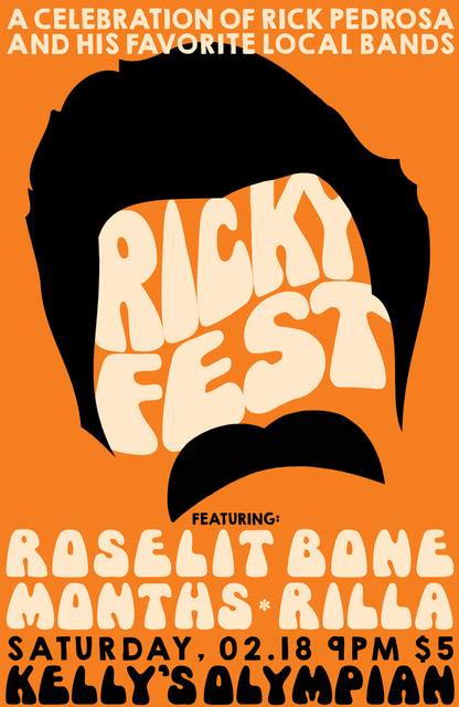months plays rickyfest w/ roselit bone and rilla on february 18