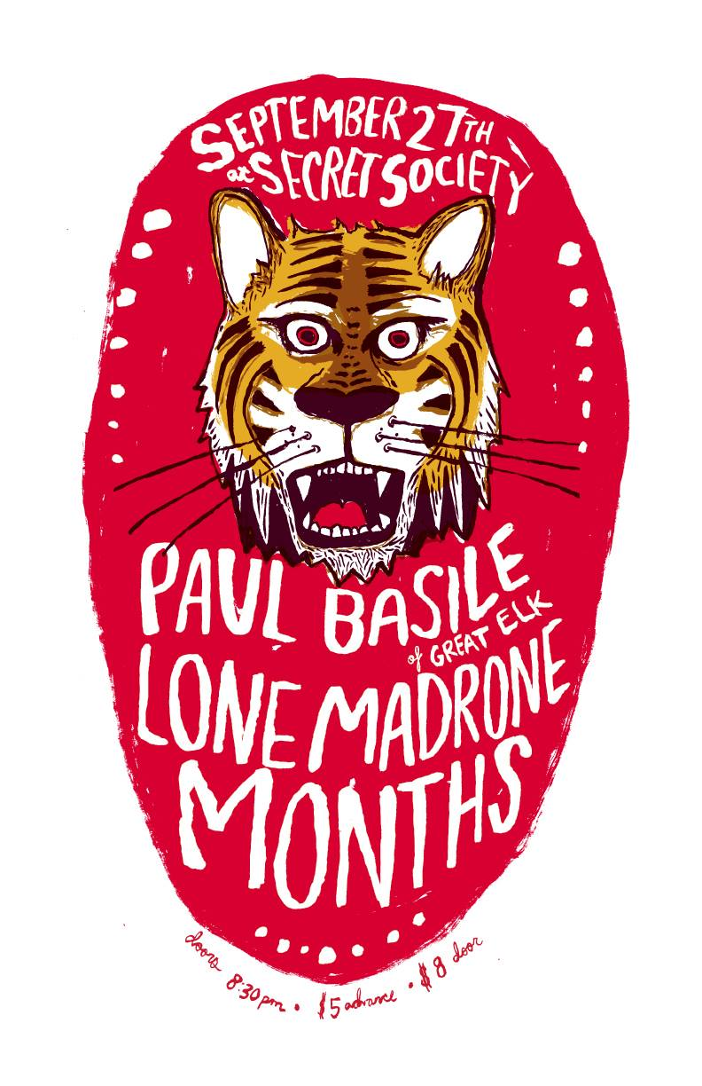 months with lone madrone and paul basile at secret society september 27 2013