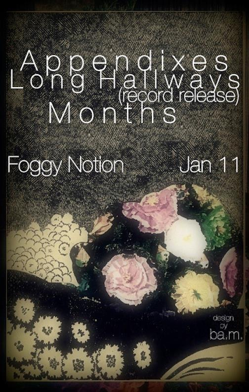 months with long hallways and appendixes at the foggy notion january 11 2014